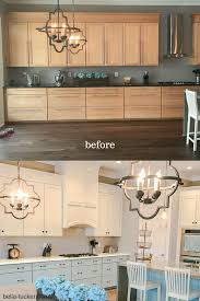 kitchens with different colored cabinets kitchen cabinets two different paint colors bella tucker