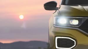 new volkswagen t roc teaser shows off its svelte style roadshow