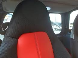 siege smart roadster for smart fortwo leatherette car seat covers with synthetic sides