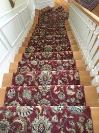 Couristan Kashimar Red Oriental Patterned Stair Runner Walls Stair Rods And Oriental