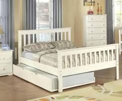 double trundle bed bedroom furniture double trundle bed full size bed white trading cl double size