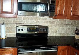 faux brick backsplash in kitchen baldauf contracting inc