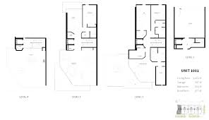 luxury townhouse floor plans eldorado on 1st