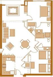 2 Bedroom Condo Floor Plan Wisconsin Dells Condo Two Bedroom Condo