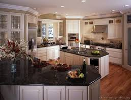Granite Countertops With White Kitchen Cabinets by 75 Best Antique White Kitchens Images On Pinterest Antique White