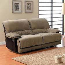 Double Reclining Sofa by Double Recliner Sofa Grantham Double Reclining Sofa Homelegance