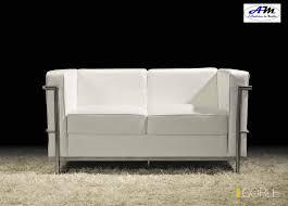 canapé cuir blanc design canapé design moderne 3 places 2 places fauteuil cuir blanc