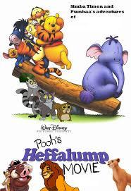 simba timon pumbaa u0027s adventures pooh u0027s heffalump movie