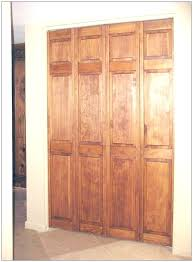 Bi Fold 6 Panel Closet Doors Oak Bifold Closet Doors Magnificent Ideas Oak Closet Doors