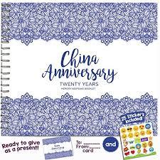 20 year wedding anniversary gifts 20th wedding anniversary gift co uk