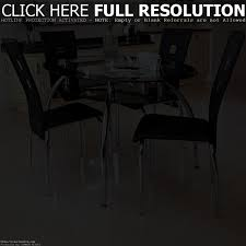 Black Lacquer Dining Room Chairs Chair Large Black Lacquered Glass Dining Table Set 4 Jpg And 6 C