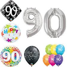 qualatex balloons age 90 happy 90th birthday qualatex balloons helium party