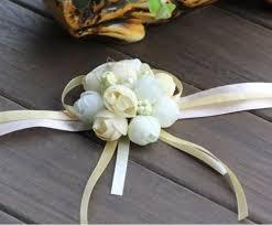 Wrist Corsage Bracelet Wildgirl Wedding Bridesmaid Bride Prom Bridal Wrist Corsage Hand
