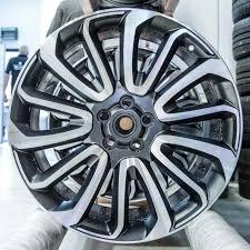 wheels range rover 22 inch cut range rover alloy wheel repair alloys