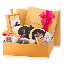 godiva chocolate gift boxes and baskets