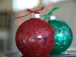 diy make a personalized glitter ornament christmasornaments