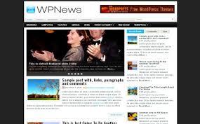 free wordpress celebrity news jquery theme template free web