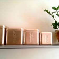 Square Kitchen Canisters by Best Pink Canisters Products On Wanelo