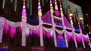 christmas light show 2016 christmas light show saks fifth avenue nyc 2016 youtube