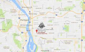 Map Portland Or by Singing And Voice Lessons Portland Oregon Body Led Singing