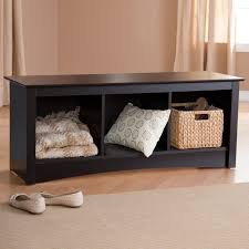 bench bright black bench with shoe storage finest paterson black