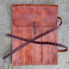 buy leather case for kitchen knives brown gift gift to man