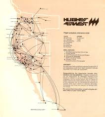 Frontier Airlines Route Map by Hughes Airwest Airline Route Maps Pinterest Aviation