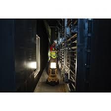 dewalt 20v area light dewalt announces bluetooth led light and radio charger dcl070