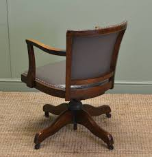 Upholstered Swivel Desk Chair Antique Oak Office Chair Parts Ideas About Antique Wooden Office