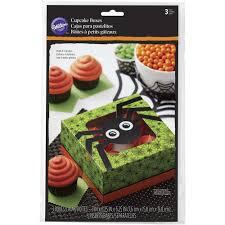 spider web halloween cupcake boxes wilton