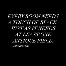 House Needs by Every Room Needs A Touch Of Black Just As It Needs At Least One