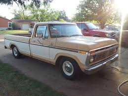 Ford F100 1975 Lowered 1973 77 Ford F 100 With Dog Dish Hubcaps Hauler Heaven