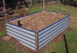 Backyard Raised Garden Ideas Stained Raised Beds Garden Backyard Gardening Champsbahrain Com