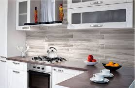 kitchen interesting grayish brown subway tile kitchen backsplash