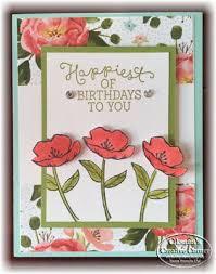 33 best birthday blooms su images on pinterest birthday cards