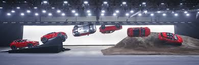 jaguar e pace shatters record for world u0027s furthest barrel roll