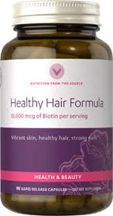 healthy hair formula 10 000mcg at vitamin world