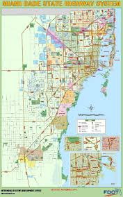 Miami Design District Map by Miami Dade Highway Map