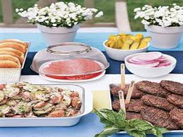 the make room planner back yard party food easy outdoor party