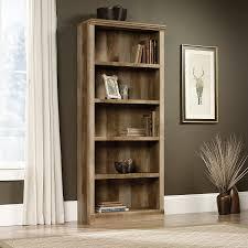Sauder Harbor View Bookcase by Amazon Com Sauder East Canyon 5 Shelf Bookcase In Craftsman Oak