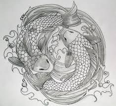pencil drawings of koi fish koi fish pencil sketch by olimueller