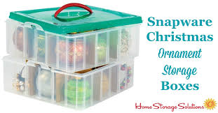 snapware ornament storage boxes make organizing a snap