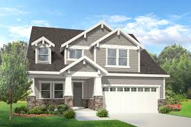 craftsman style home plans campbell house plan 2 story craftsman style house plan walker
