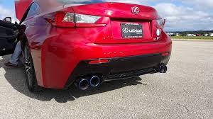 lexus uk rcf lexus rcf exhaust sound youtube