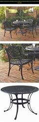 Biscayne Patio Furniture by Home Styles 5554 308 Biscayne 5 Piece Outdoor Dining Set Black