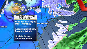 Map Of New Jersey Shore Winter Storm Watch Issued For Several New Jersey Counties Cbs Philly