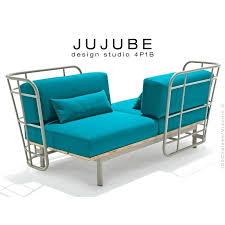 structure canapé coussin de canape design jujube canapac design structure acier peint