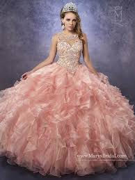 marys bridal s bridal princess collection quinceanera dress style 4q483