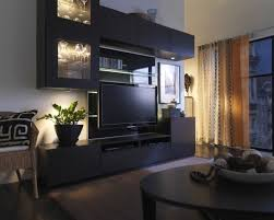 Living Room Entertainment Center Ideas Unique Living Room Ideas With Black C Shaped Entertainment Centers