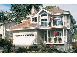 house plans with balcony eplans contemporary modern house plan a roof deck with a tub